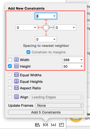 Auto Layout Keyboard Text Field Constraints