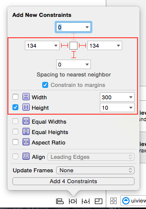 Auto Layout Keyboard Spacer View Constraints